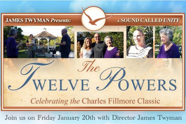 12 Powers Movie at Unity of Tustin with James Twyman